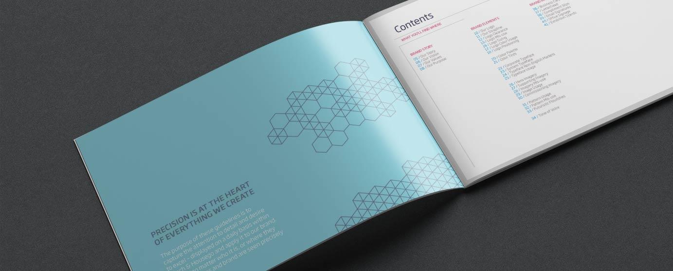 Gooch & Housego Brandingbook
