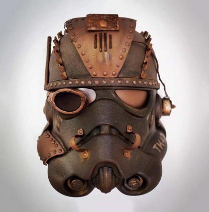 Steam punk Star Wars helmet