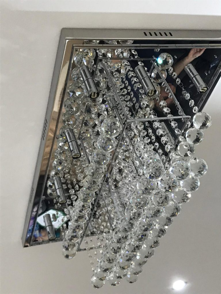 a perfect chandelier for a living room