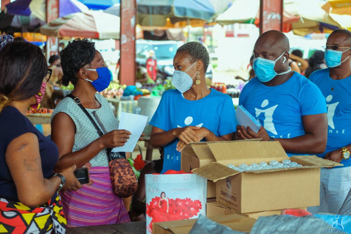 Lutte contre la pandémie à covid-19: Sensibilisation des femmes commerçantes