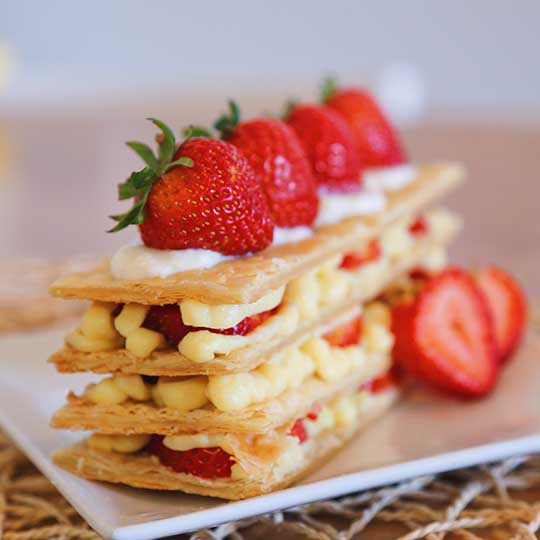 millefeuille atelier amateurs