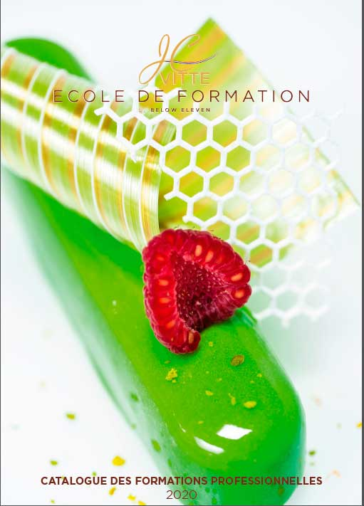 Catalogue 2020 des formations professionnelles - pâtisserie, confiserie, chocolaterie