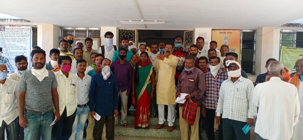 डिजिटल 7/12 वर 2020-21 चा खसरा चढवून तात्काळ शेतकऱ्यांना लाभ द्या- राजेश चांदेवार