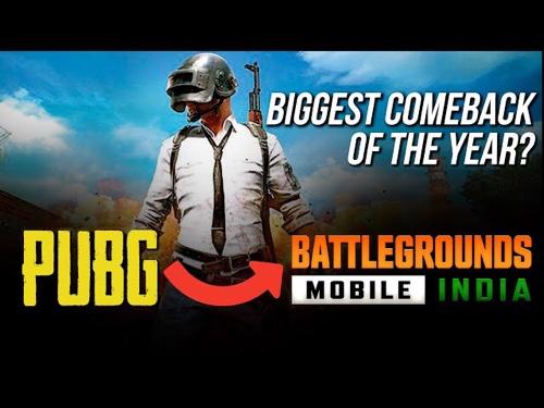 PUBG MOBILE भारतात १८ मेपासून Battlegrounds Mobile India नावाने सुरु होणार !