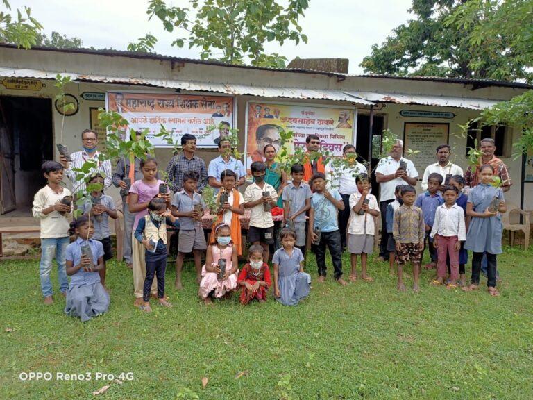 मुख्यमंत्री उद्धव बाळासाहेब ठाकरे यांच्या वाढदिवसानिमित्त 'प्रेरणा दिवस' म्हणून साजरा