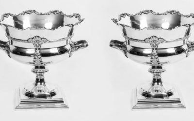Sheffield Silver Plated Wine Coolers