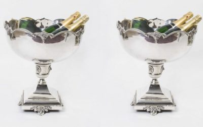 Silver Plated Wine Coolers