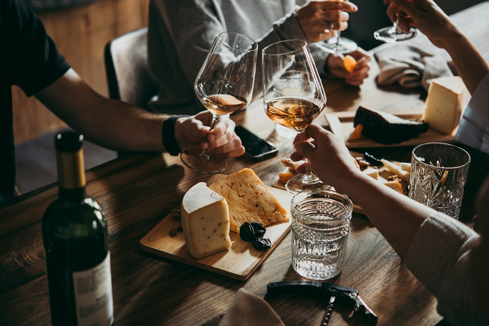 Wine and cheese events