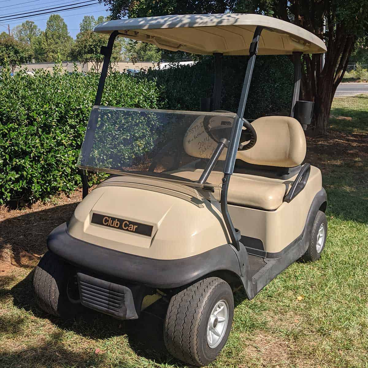 Beige-2014-Club-Car-2-Pass-Front