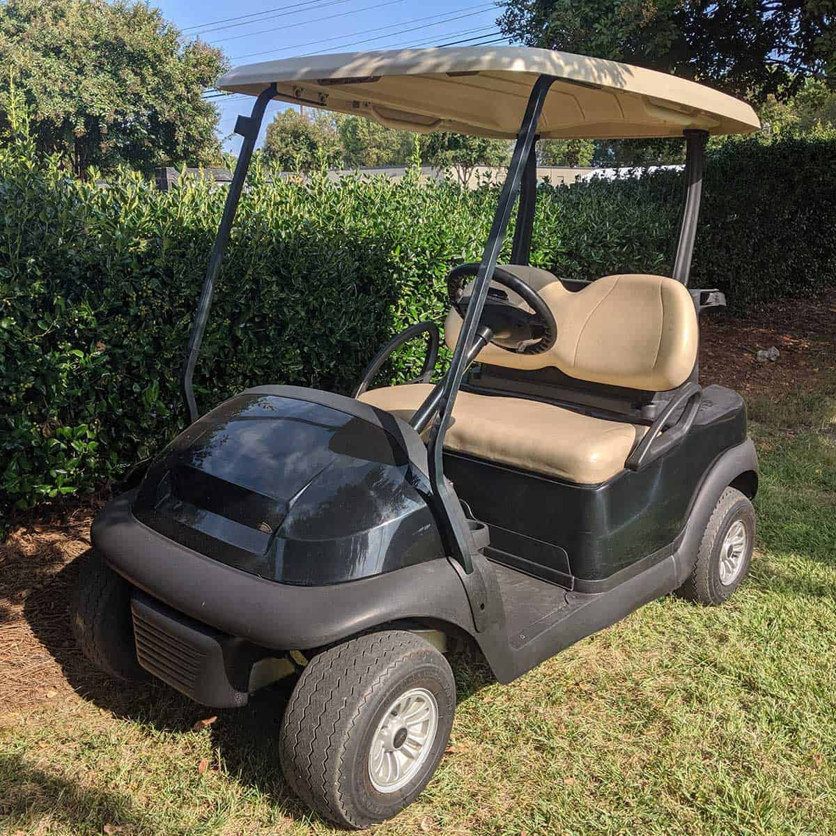 Black-2015-Club-Car-2-Pass-Front