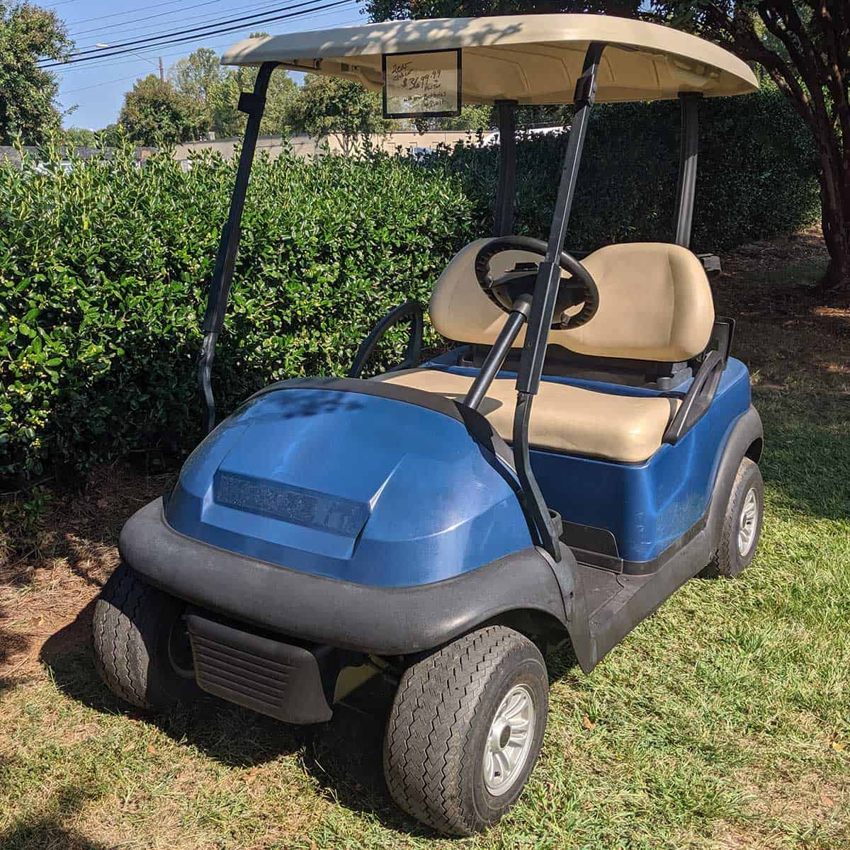 Blue-2015-Club-Car-2-Pass-Front