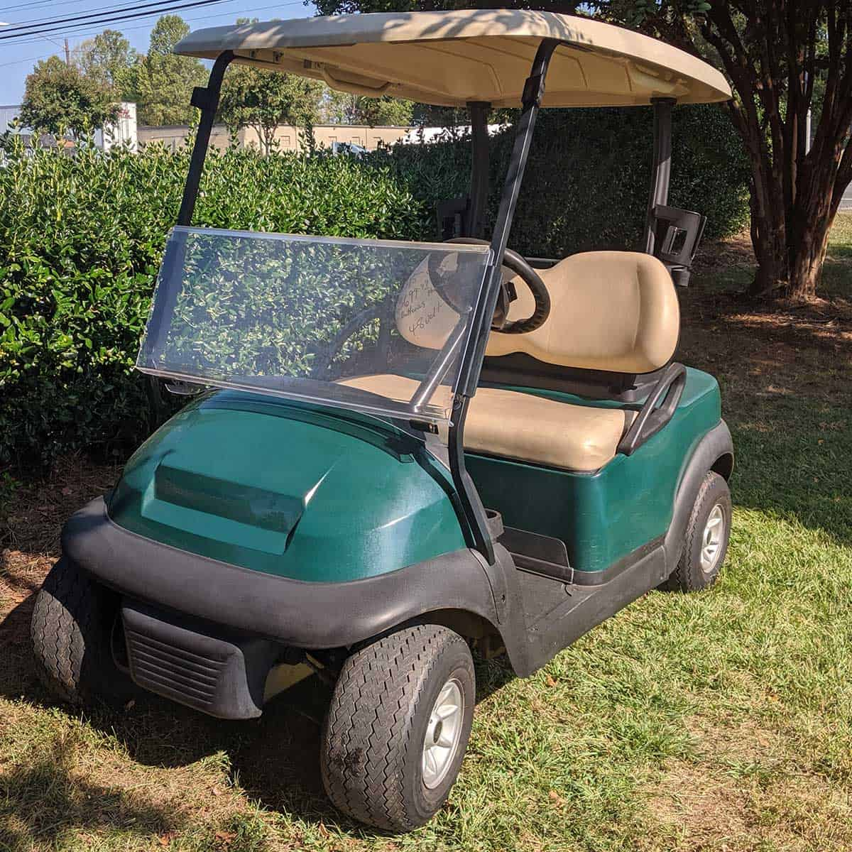 Green-2015-Club-Car-2-Pass-Front