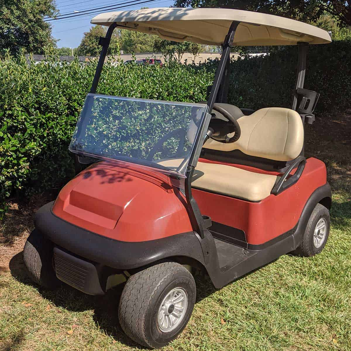 Orange-2015-Club-Car-2-Pass-Front