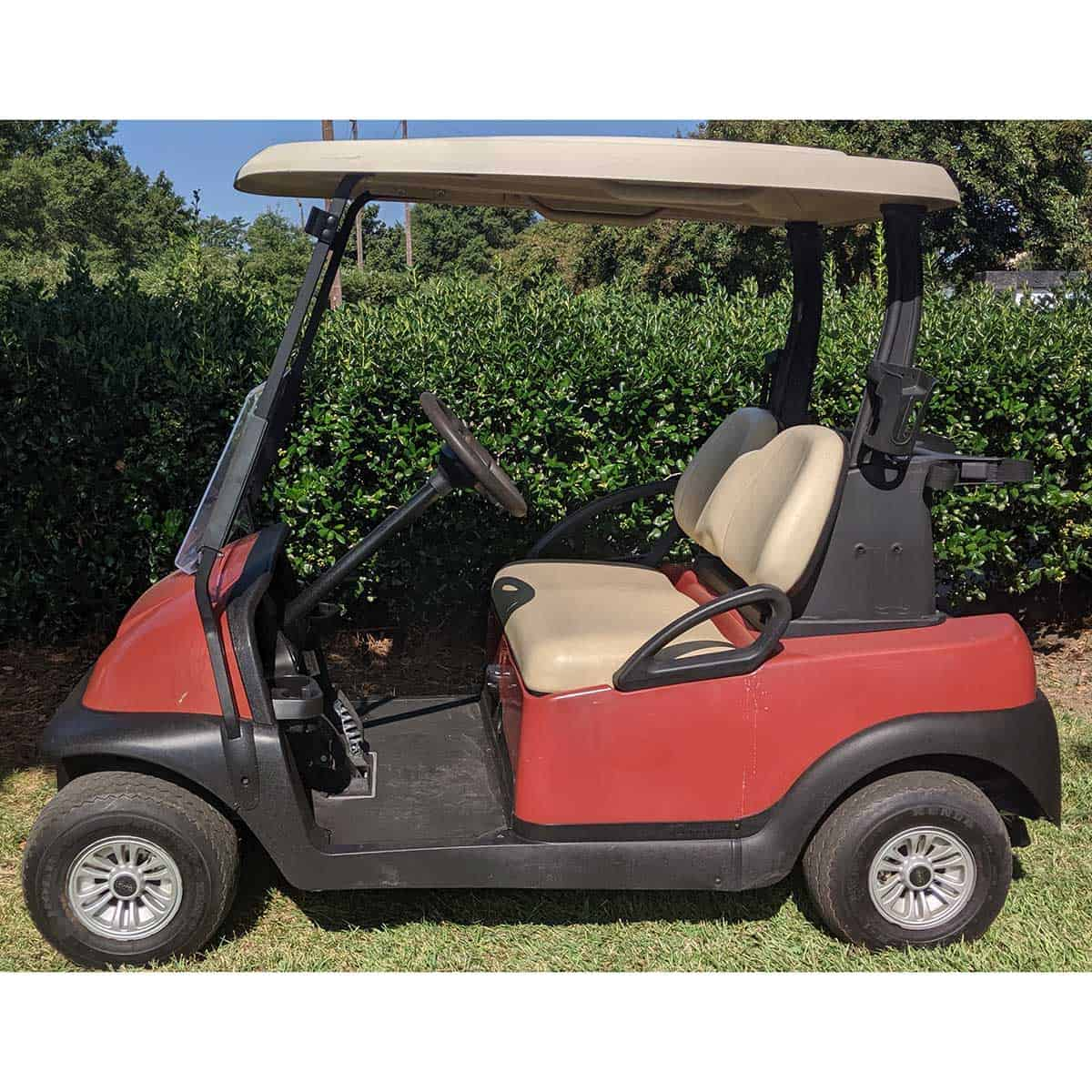 Orange-2015-Club-Car-2-Pass-Side