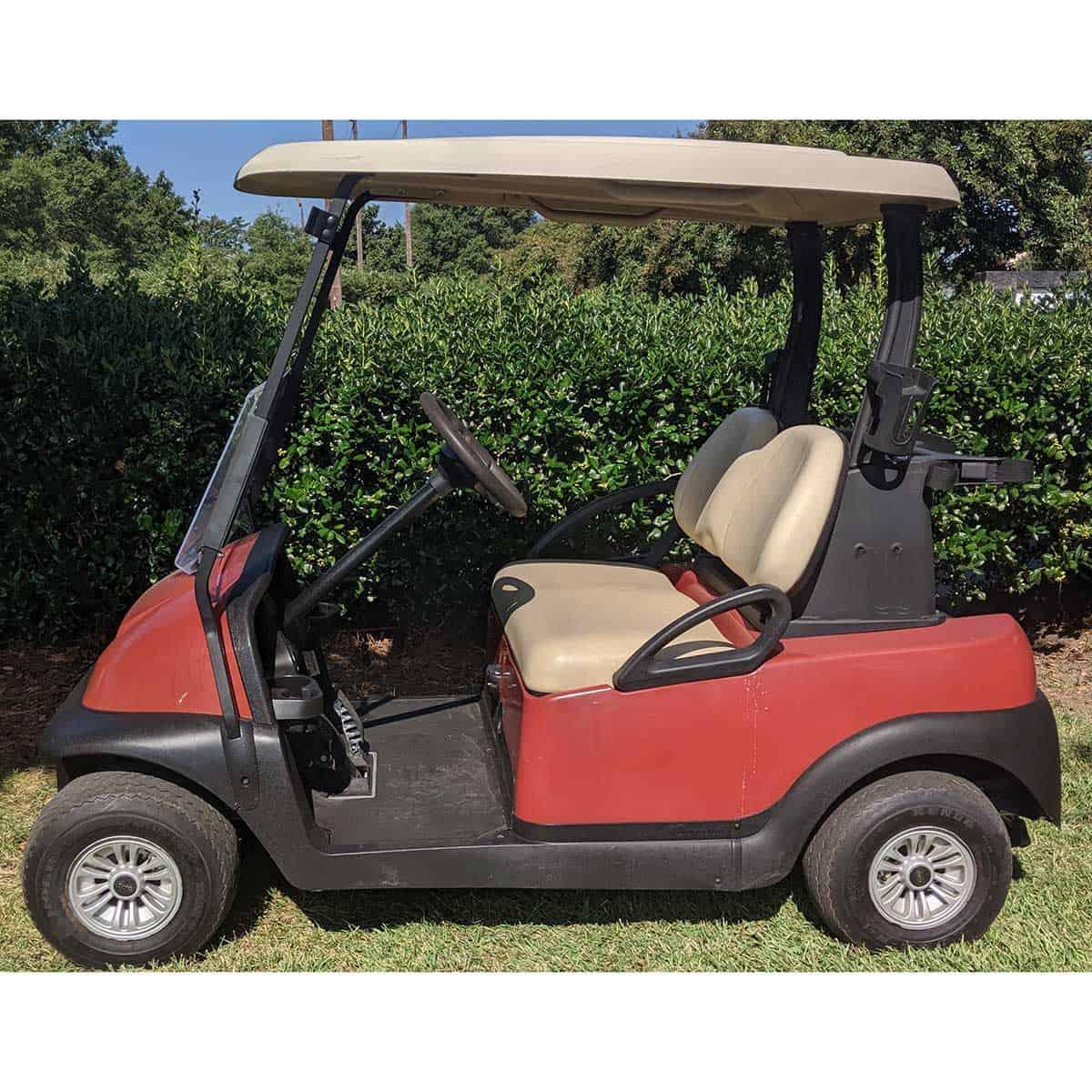 Orange-2015-Club-Car-2-Pass-Side