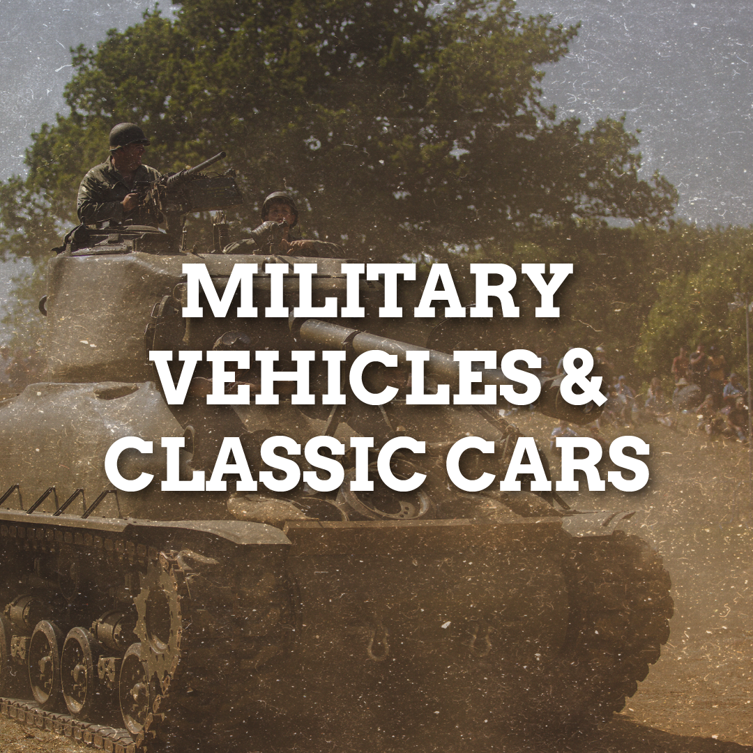 Military Vehicles/Classic Cars