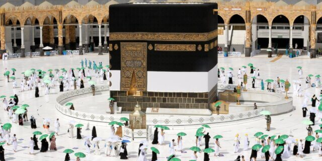 How is tawaf done