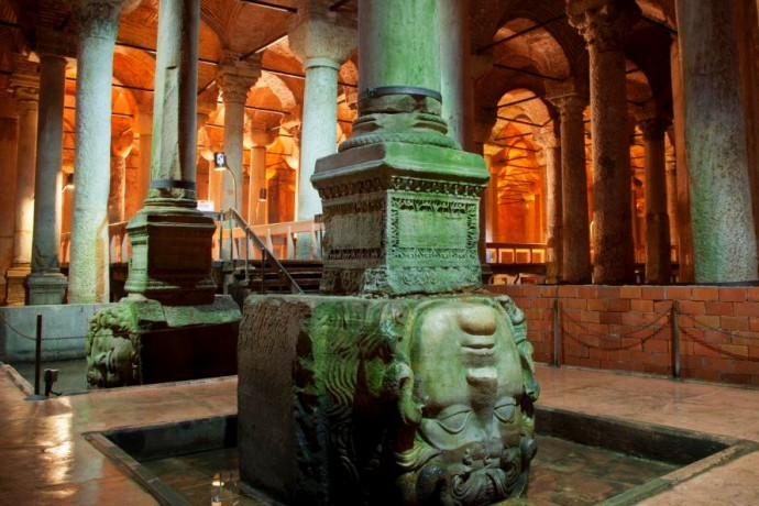 Basilica Sistern Istanbul Layover Tour