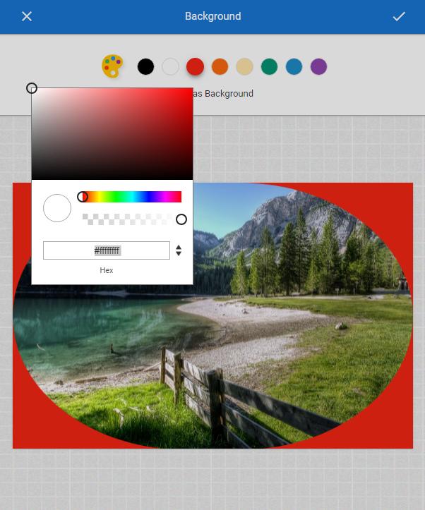 add background to photo