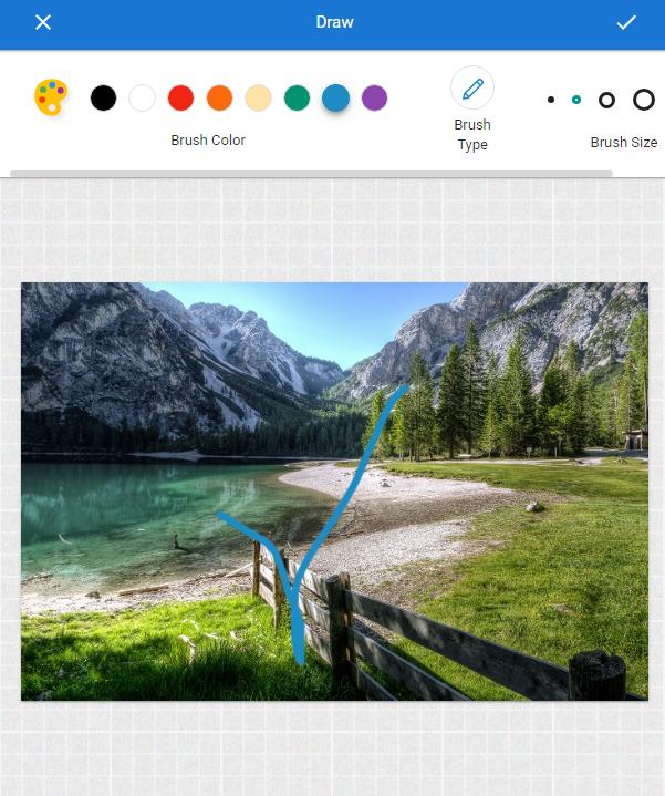 draw on photo