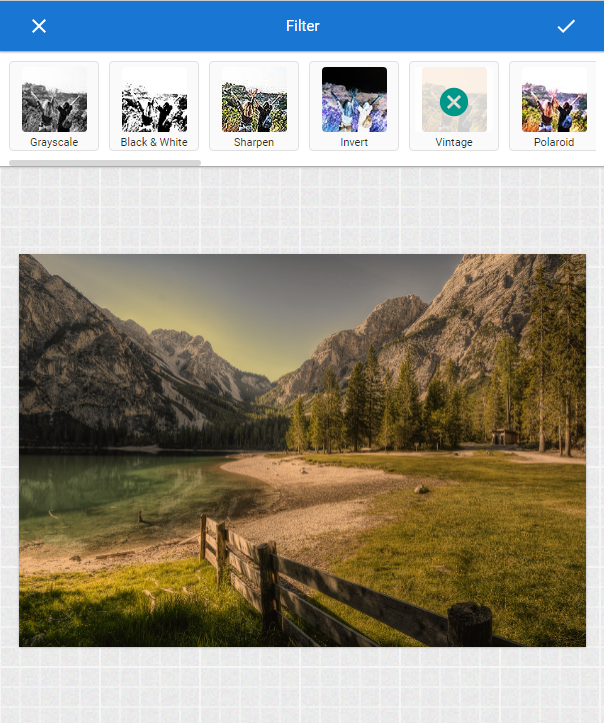 photo editor filters