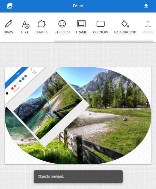 merge photograph