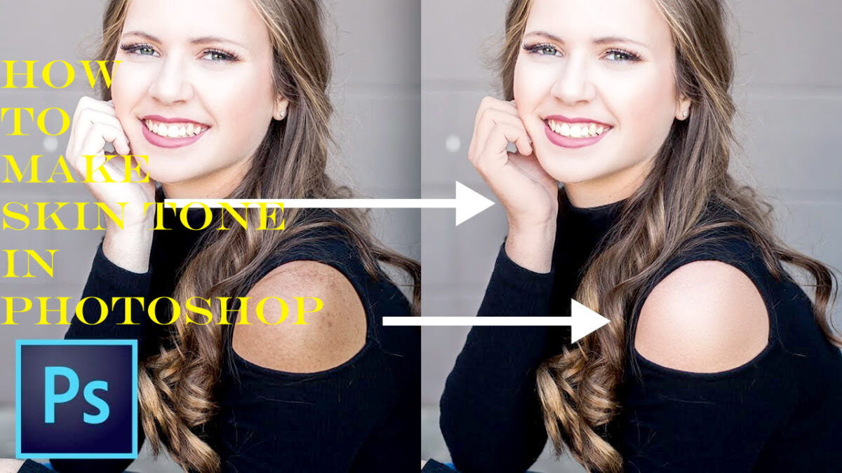How To Make Skin Tone in Photoshopv