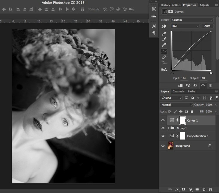 How to Make a Layer Black and White in Photoshop