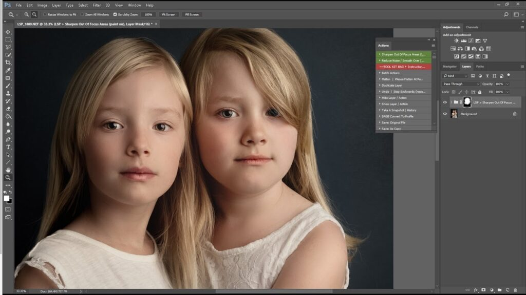 How to Fix Out of Focus Pictures in Lightroom