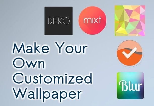 How To Make Your Own Wallpaper