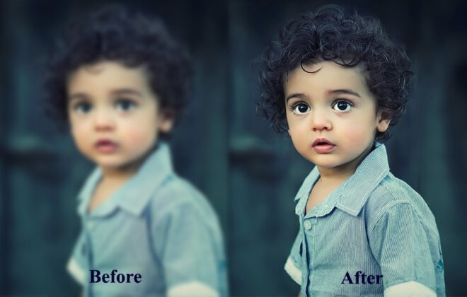 How To Sharpen A Blurry Photo