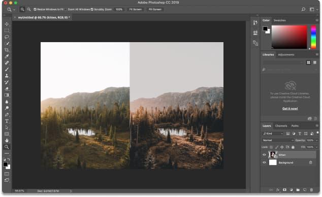 reduce image size without losing quality photoshop