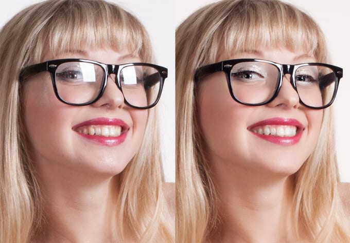 How To Remove Glare From Glasses In Photos