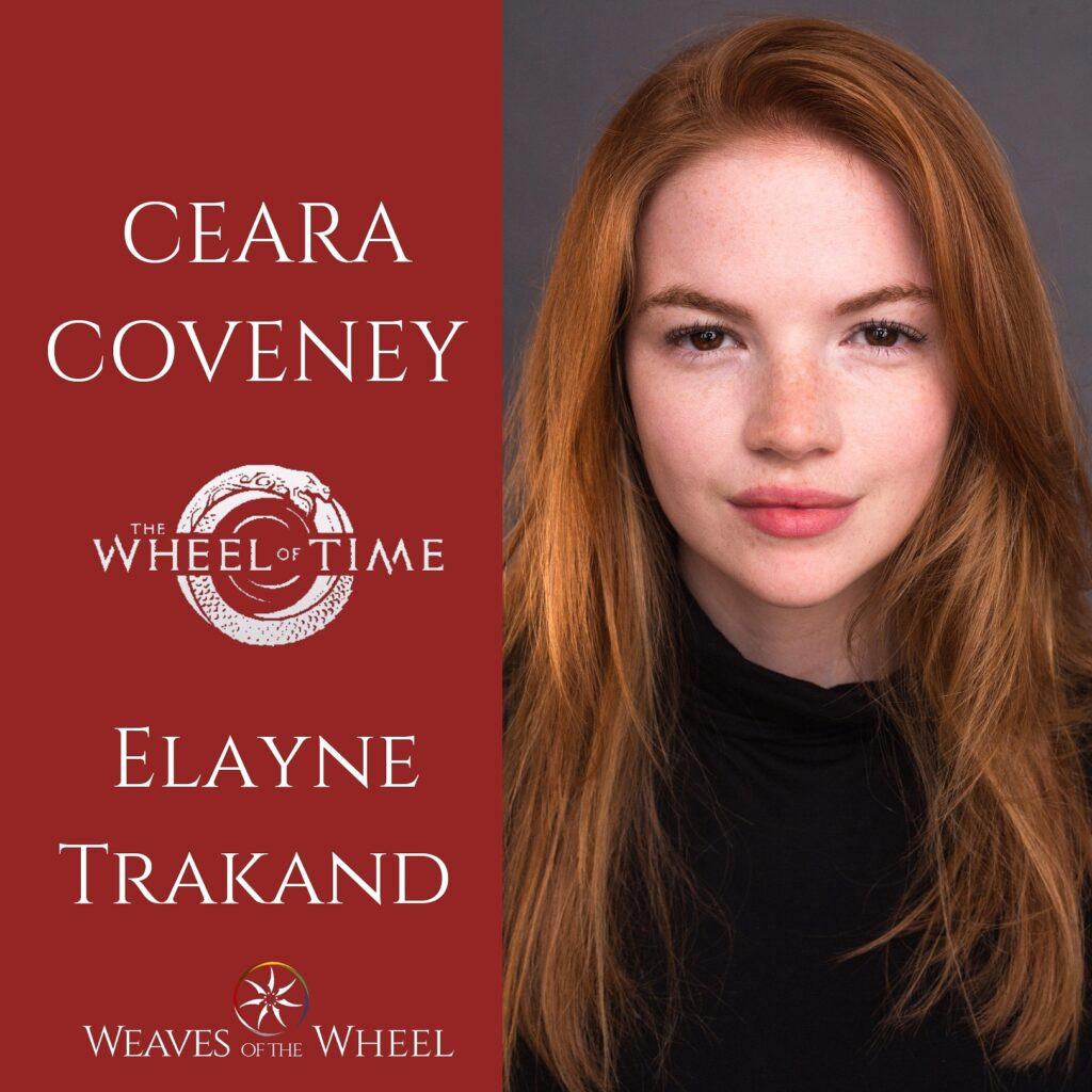 The Wheel of Time cast Elayne Trakand
