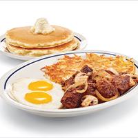 Sirloin Tips & Eggs