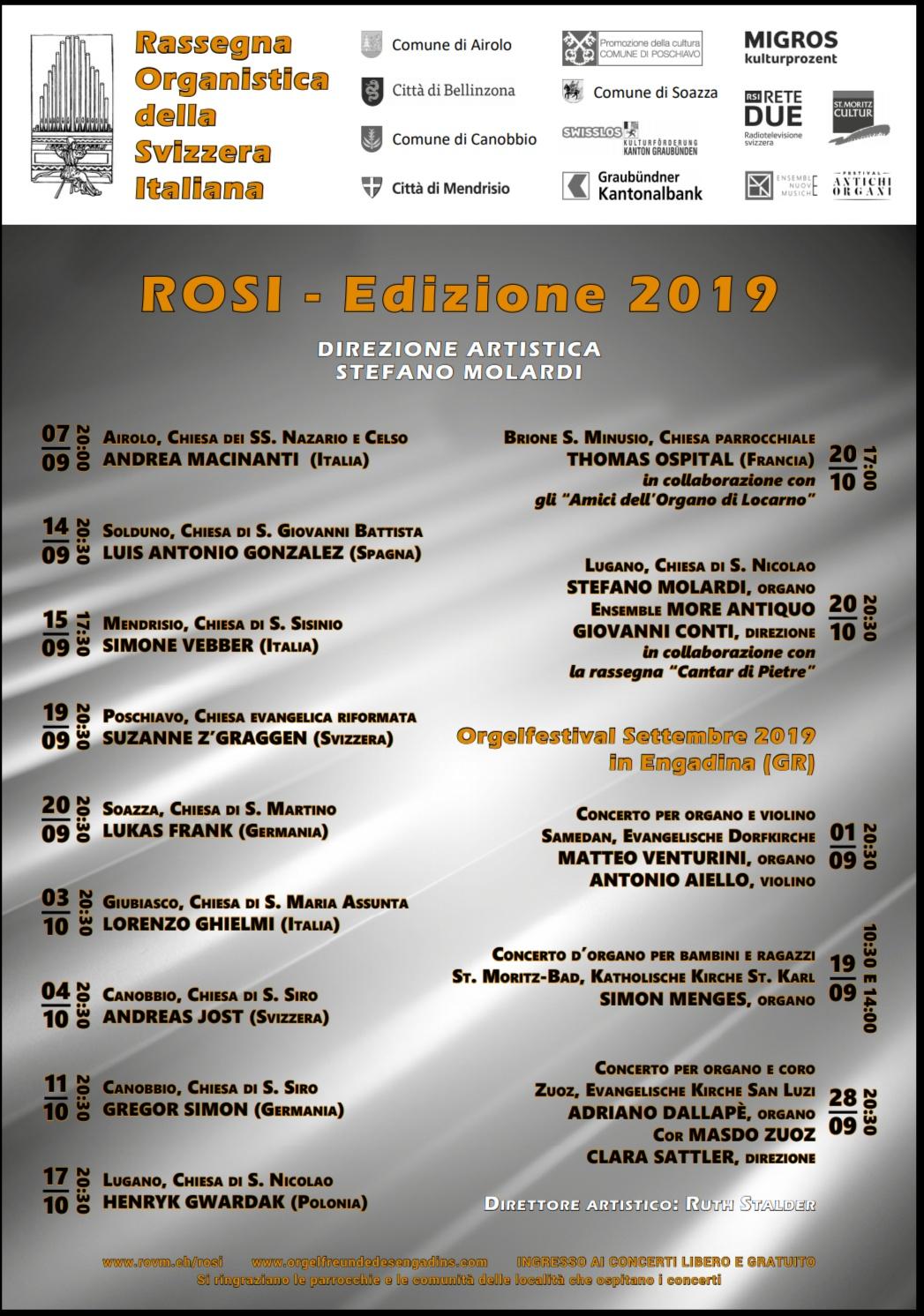ROSI - Edizione 2019