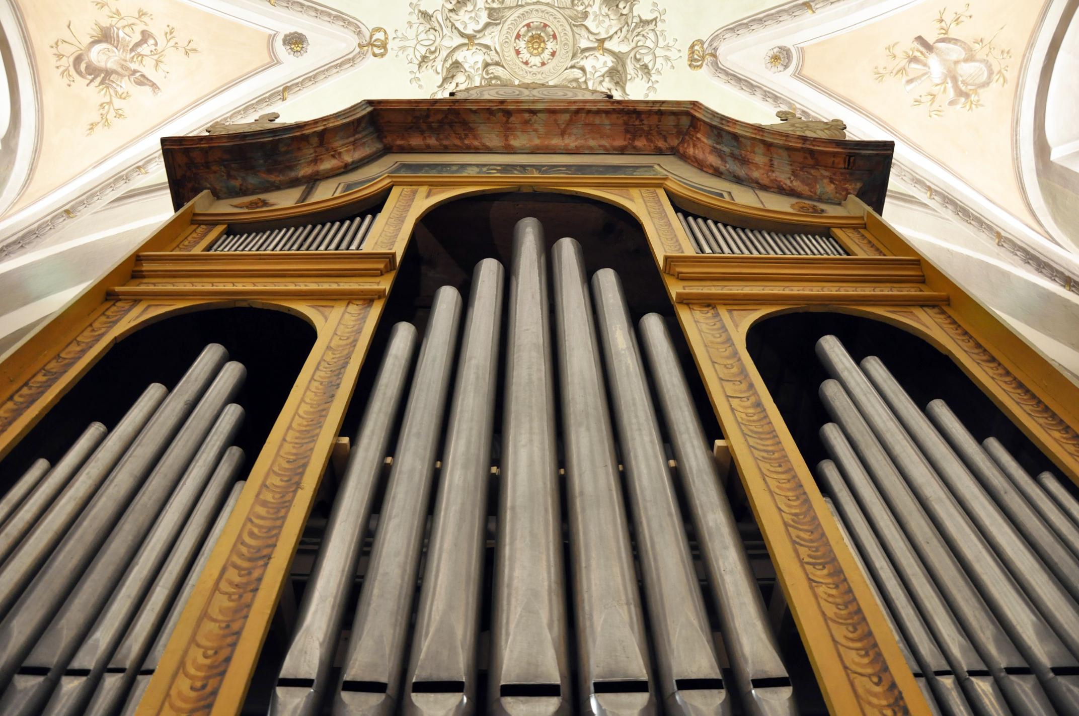 L'organo Reina (1717) della Parrocchiale di Solduno, Locarno.