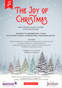 Next concert - The Joy of Christmas 2019