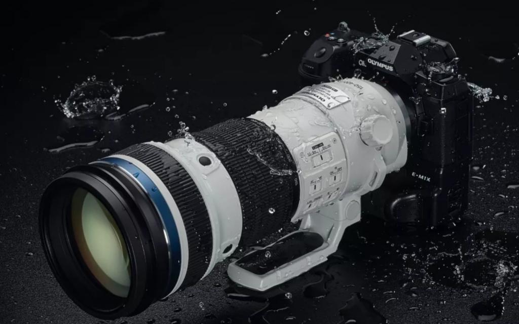 Olympus 150 400mm F4.5 Pro lens