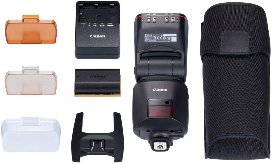 Canon Speedlite EL 1 box contents