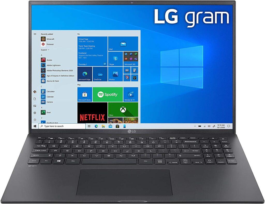 LG Gram 2021 16Z90P K.AAB6U1