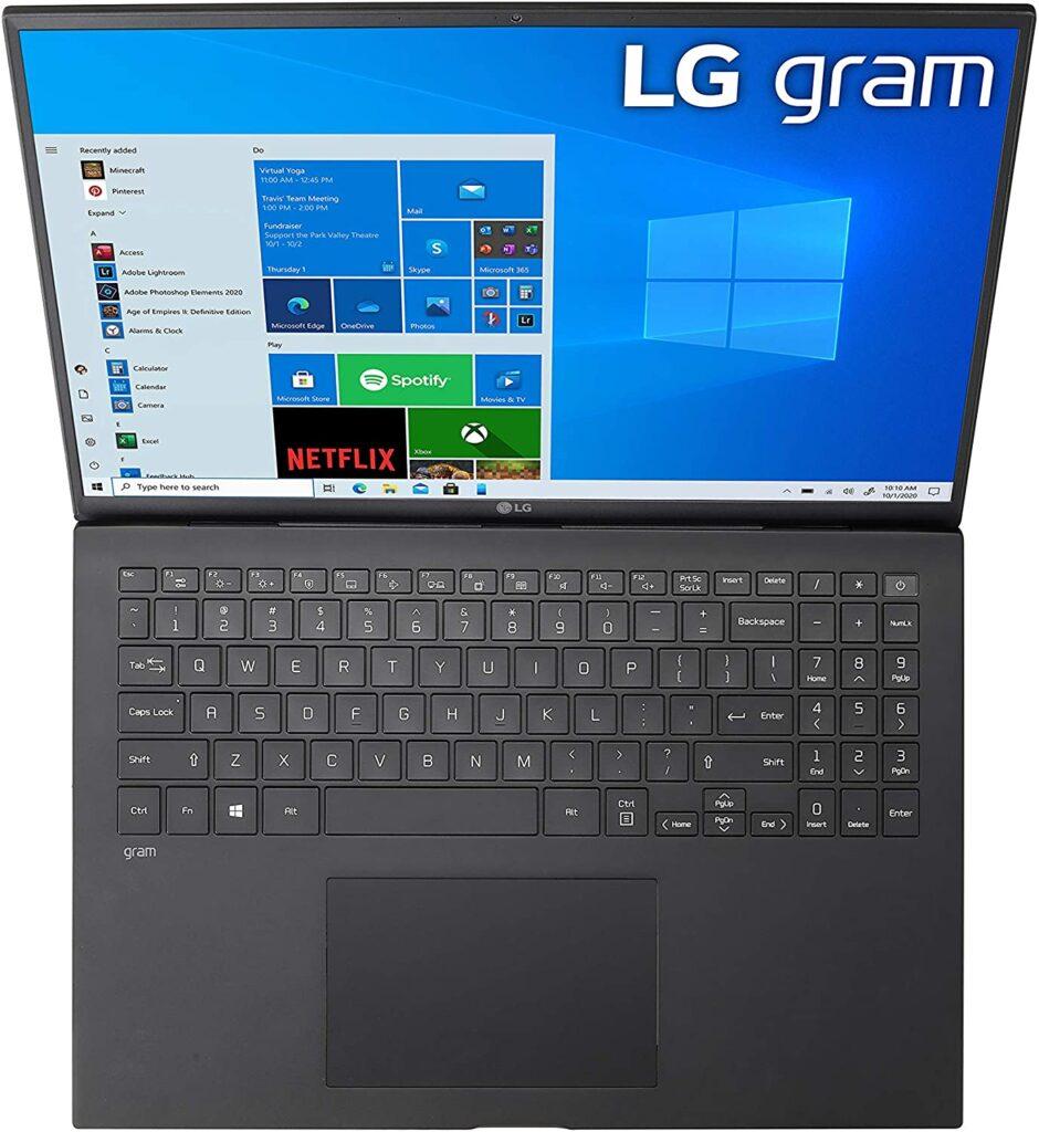 LG Gram 2021 16Z90P K.AAB6U1 Amazon US