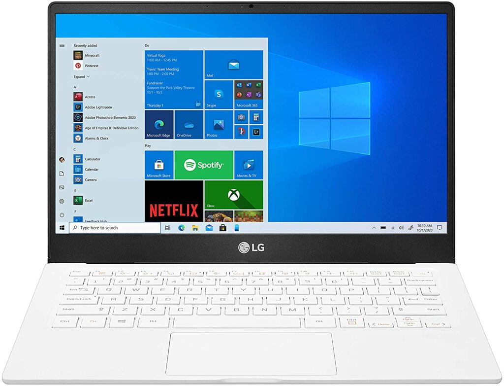 LG Gram 2021 Laptop AMD Ryzen Laptops