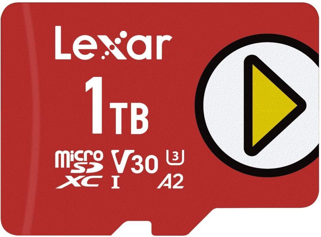 Lexar Play 1TB Micro Sdcard