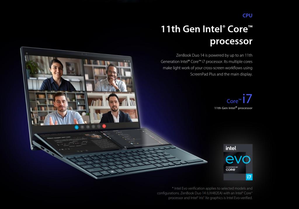 Asus ZenBook Duo 14 UX482EA DS71T AMazon US Price