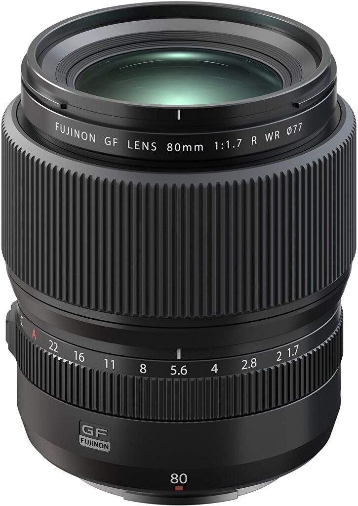 Fujifilm GF80mmF1.7 R WR Lens