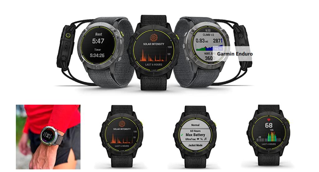 Garmin Enduro 2021 Solar GPS Watch
