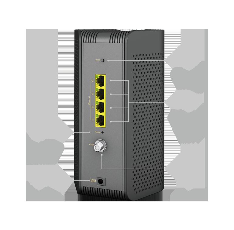 ASUS CM AX6000 WiFi 6 Cable Modem connectivity