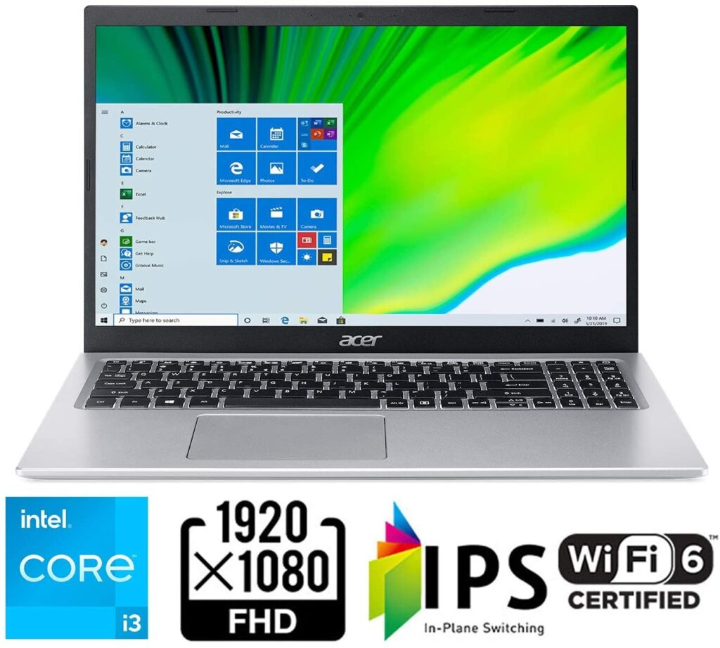 Acer Aspire 5 A515 56 363A Specs Amazon US