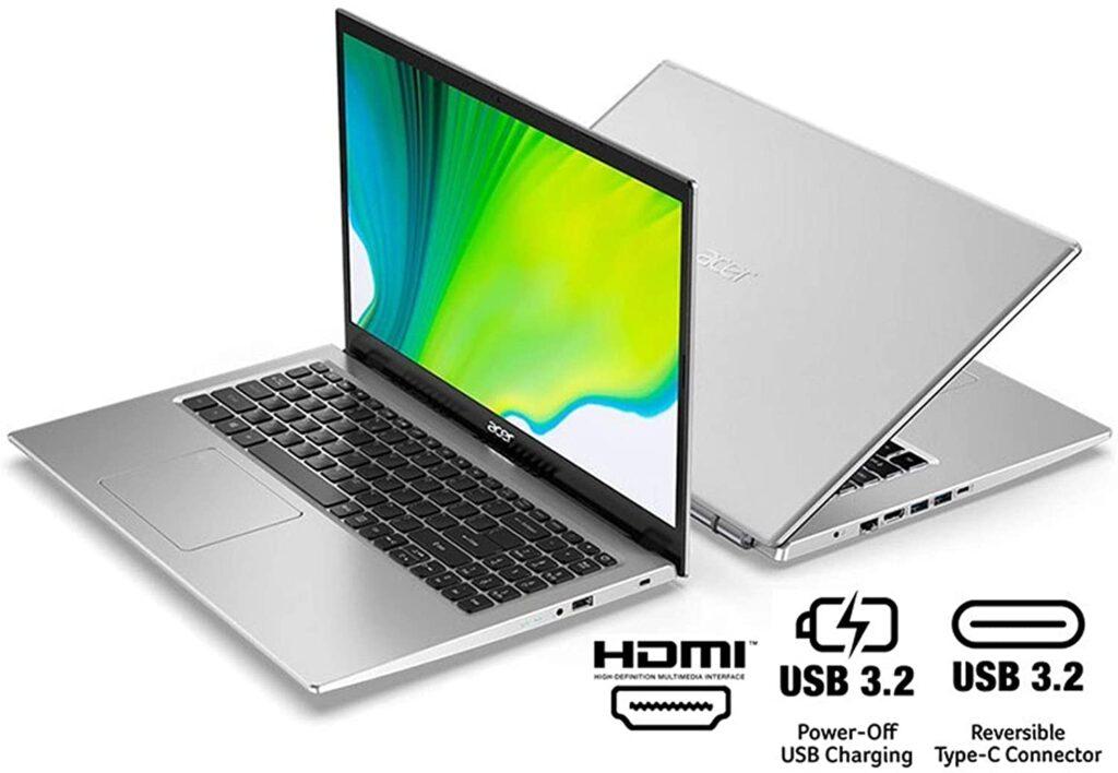 Acer Aspire 5 A515 56 363A USB Ports